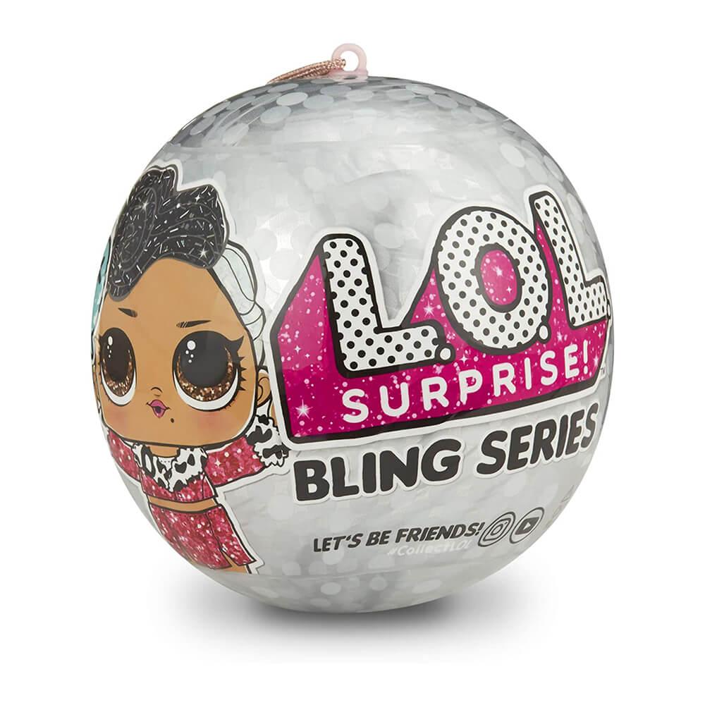 Кукла LOL Bling Лол Блинг Новогодний шар